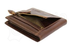 Wild Things Only Unique Leather Wallet Brown-4370
