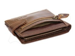 Wild Things Only Unique Leather Wallet Black-4368