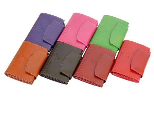 Emporio Valentini Women Purse/Wallet Medium Size Dark Red-5839
