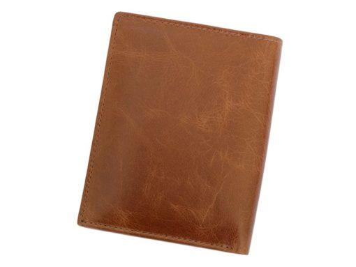 Bellugio Man Leather Wallet Dark Brown-6634