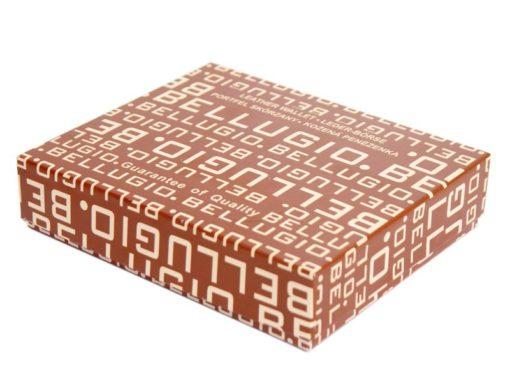 Bellugio Man Leather Wallet Dark Brown-6628