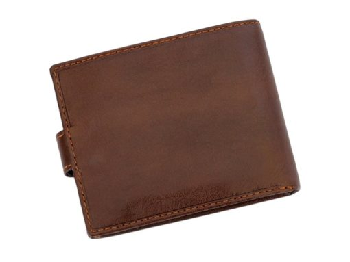 Leather Wallet Brown Valentini Gino-4325