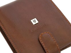Leather Wallet Brown Valentini Gino-4330