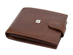 Leather Wallet Black Valentini Gino-4313
