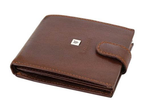 Leather Wallet Brown Valentini Gino-4327