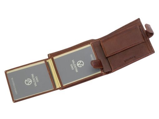 Leather Wallet Brown Valentini Gino-4319
