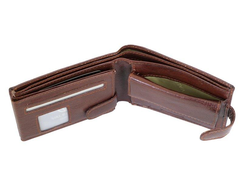 Leather Wallet Black Valentini Gino-4312