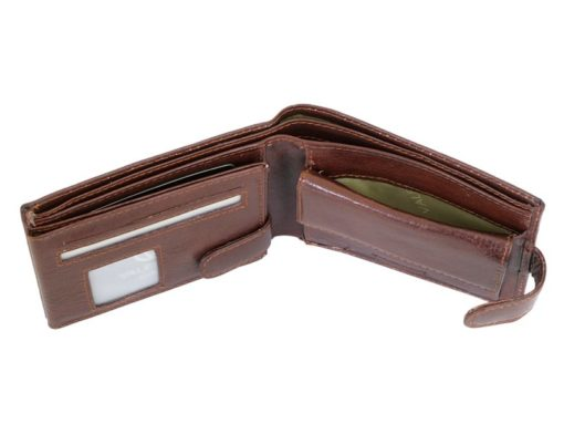 Leather Wallet Brown Valentini Gino-4326
