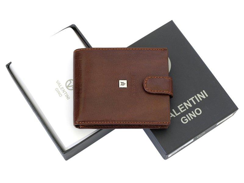 Leather Wallet Black Valentini Gino-4314