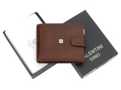 Leather Wallet Brown Valentini Gino-4328