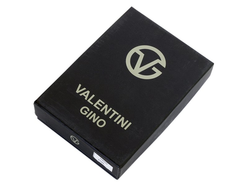 Leather Wallet Black Valentini Gino-4308