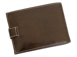 Gino Valentini Man Leather Wallet Brown-6676