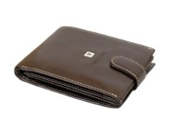 Gino Valentini Man Leather Wallet Black-6699