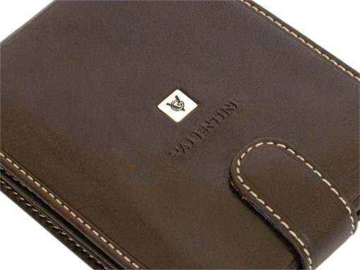 Gino Valentini Man Leather Wallet Brown-6682