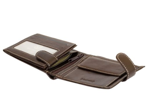 Gino Valentini Man Leather Wallet Brown-6672