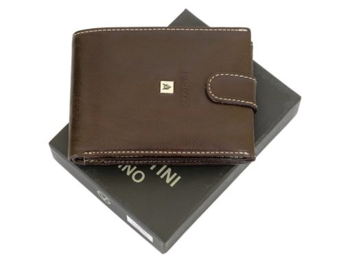 Gino Valentini Man Leather Wallet Brown-6674