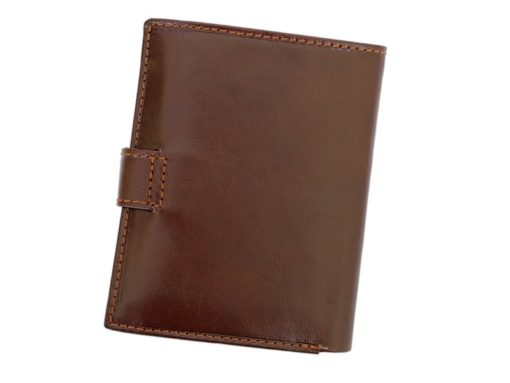 Gino Valentini Man Leather Wallet Brown-4522