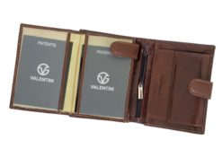 Gino Valentini Man Leather Wallet Brown-4526