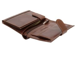 Gino Valentini Man Leather Wallet Brown-4524