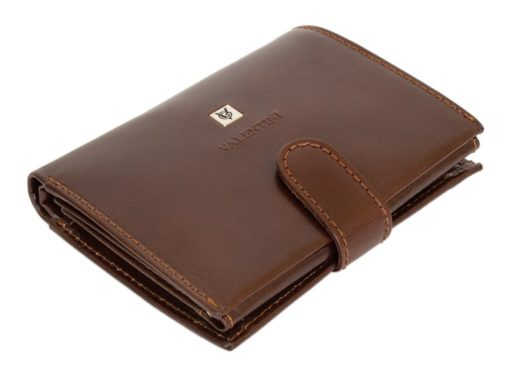 Gino Valentini Man Leather Wallet Brown-4518