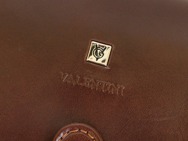 Gino Valentini Man Leather Wallet Brown-4521