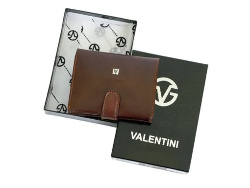 Gino Valentini Man Leather Wallet Brown-4519