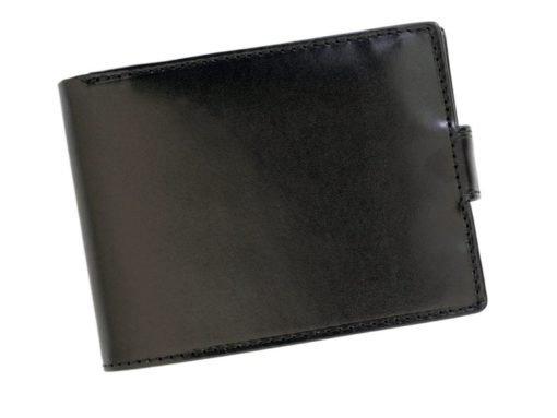 Gino Valentini Man Leather Wallet Black-6701