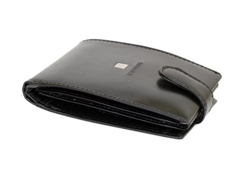 Gino Valentini Man Leather Wallet Black-6709