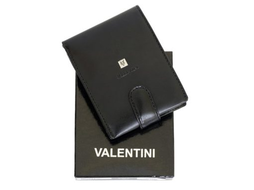 Gino Valentini Man Leather Wallet Black-6703