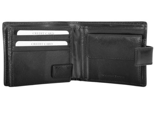 Z.Ricardo Man Leather Wallet Black-6596