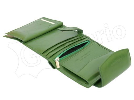 Z. Ricardo Woman Leather Wallet Green-4581