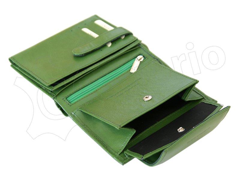 Z. Ricardo Woman Leather Wallet Green-4579