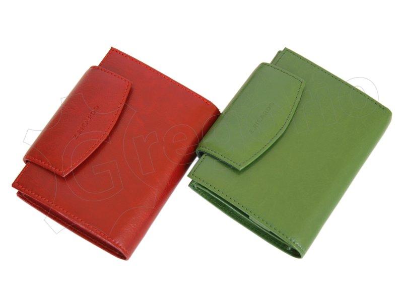 Z. Ricardo Woman Leather Wallet Green-4575