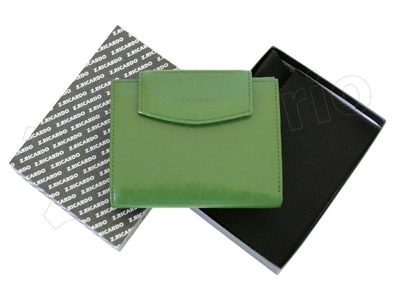 Z. Ricardo Woman Leather Wallet Green-4563