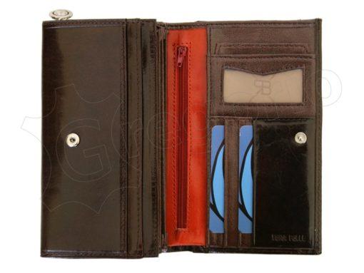 Renato Balestra Leather Women Purse/Wallet Dark Brown Orange-5516