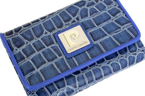 Pierre Cardin Women Leather Purse Medium Size Beige-6167