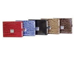 Pierre Cardin Women Leather Purse Medium Size Red-6196