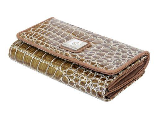 Pierre Cardin Women Leather Purse Beige-6087