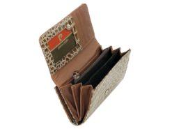 Pierre Cardin Women Leather Purse Black-6132