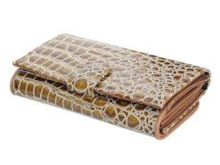 Pierre Cardin Women Leather Purse Brown-6105