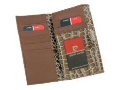Pierre Cardin Women Leather Purse Black-6136