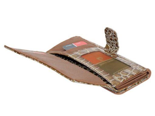 Pierre Cardin Women Leather Purse Beige-6095