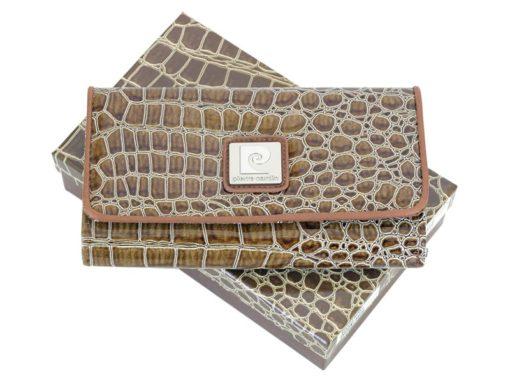 Pierre Cardin Women Leather Purse Beige-6091