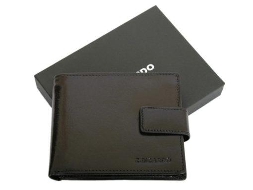 Z.Ricardo Man Leather Wallet Black-6602