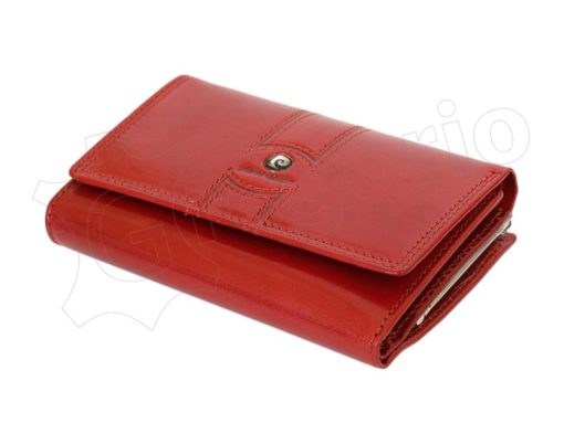 Pierre Cardin Women Leather Purse Claret-6643