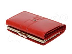Pierre Cardin Women Leather Purse Claret-6640