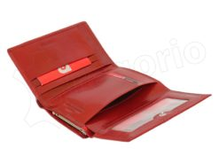 Pierre Cardin Women Leather Purse Claret-6639