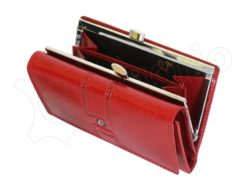 Pierre Cardin Women Leather Purse Claret-6644