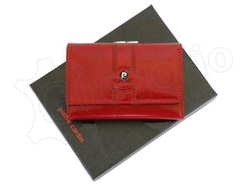 Pierre Cardin Women Leather Purse Blue-6664