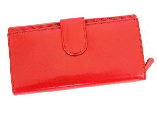 Pierre Cardin Women Leather Wallet/Purse Dark Red-6001